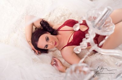 Boudoir confidence shoot. Wirral boudoir. Shooting through chanderlier.
