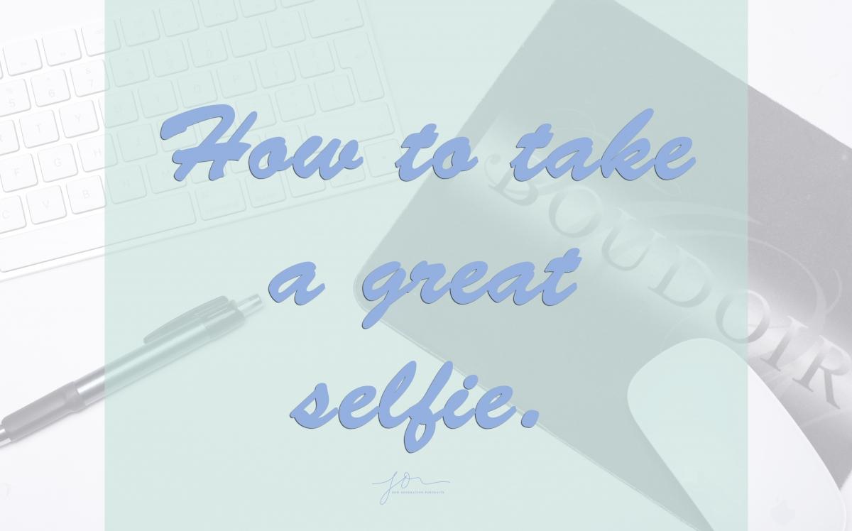 Selfie how to list.